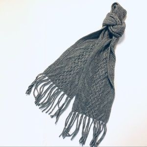 Brooks Brothers Cashmere Cable Knit Scarf